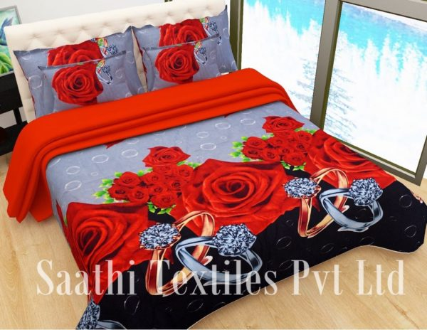 3D Polyester Bed Sheets