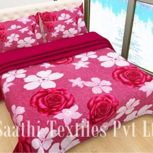 Polyester 3D Bed Sheet